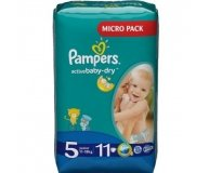 Подгузники Pampers Active Baby-Dry Junior 11-18кг 11шт/уп