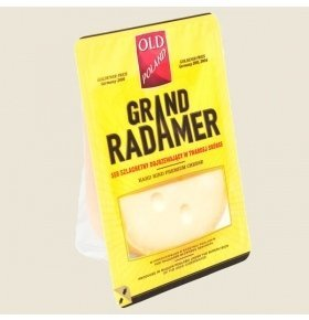 Сыр Spomlek Grand Radamer 45% кор/мол 190г