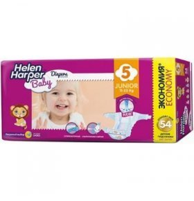Подгузники Helen Harper Baby Junior 11-25кг 54шт/уп