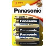 Батарейки Panasonic LR20 Alkaline Power 2шт/уп