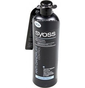 Шампунь Syoss «Anti-Dandruff Control», против перхоти, 500 мл