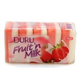 Мыло Duru Fruity 5x75гр