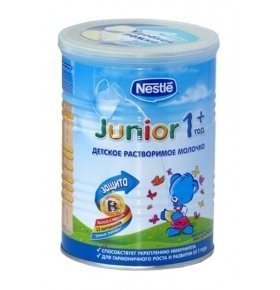 Смесь Nestle GUM Junior 1 молочная 400г
