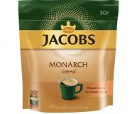 Кофе растворимый Jacobs Monarch Крема эконом пакет 30 г