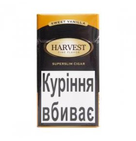 Сигары Harvest Superslim LC Sweet Vanilla 20шт/уп