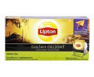 Чай зеленый Lipton Sultan Delight 25*1,8г/уп
