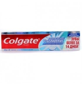 Паста зубная Colgate Advanced Whitening 100мл