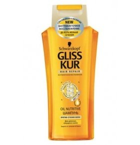 Шампунь Gliss Kur Oil Nutritive 250мл