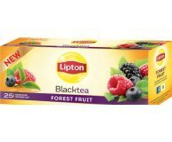 Чай черный Lipton Super tasty ForestFruit байховый 25*1,8г/уп