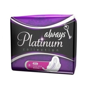 Прокладки Always Ultra Platinum Collection Super Plus 8шт/уп