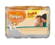 Салфетки детские Pampers Clean&Play 2*64шт/уп