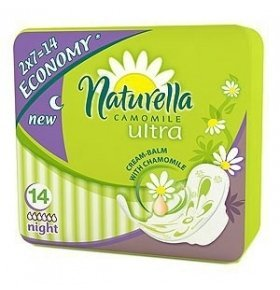 Прокладки Naturella Ultra Camomile Night Duo 14шт/уп