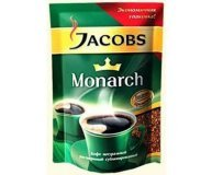 Кофе растворимый Jacobs Monarch эконом пак 90г