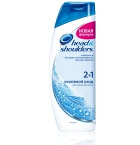Шампунь Head & Shoulders 2в1 Основной уход 750мл