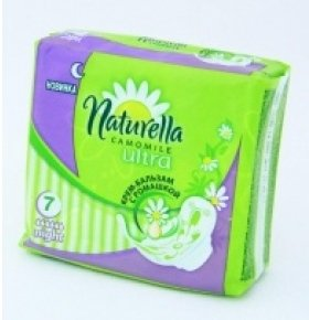 Прокладки Naturella Ultra Camomile Nigh Single 7шт/уп