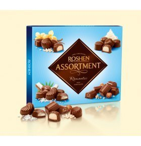 Конфеты Roshen Assortment romantic молочный шоколад 292г