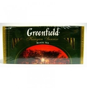 Чай черный Greenfield Kenyan Sunrise 25*2г