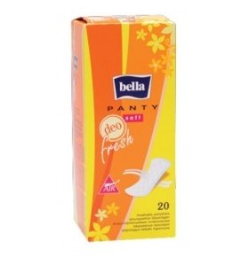 Прокладки Panty Soft Deo Fresh New Bella 20шт/уп