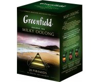Чай Китайский Greenfield Milky Oolong cо вкусом и ароматом молока 20х1,8г