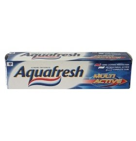 Паста зубная Aquafresh Multi-Activ Total 50мл