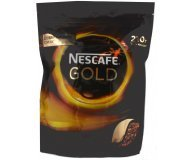 Кофе растворимый Nescafe Gold мягкая упаковка 210г