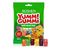 Конфеты Roshen Yummi Gummi Mini Bear Mix желейные 100 гр