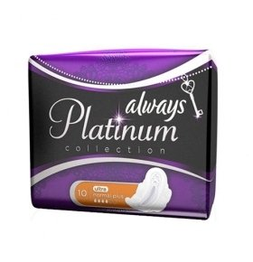 Прокладки Always Ultra Platinum Collection Norm Plus 10шт/уп