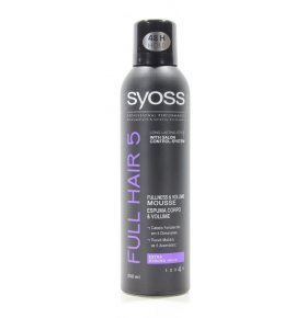 Мусс для волос Syoss Full Hair 5 250мл
