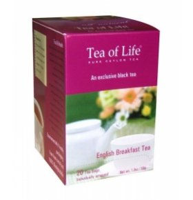 Чай зеленый Tea of Life English Tea Shop 85г