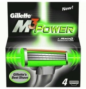 Катридж Gillette Mach3 Power 4шт/уп