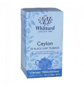 Чай Whittard of Chelsea Ceylon Черный 50*2.5г
