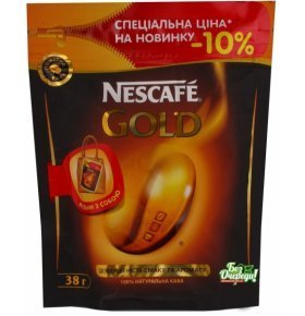 Кофе Nescafe Gold 38г