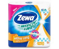 Полотенца бумажные Zewa Wisch and Weg Design Extra Lang 2 сл 2 шт