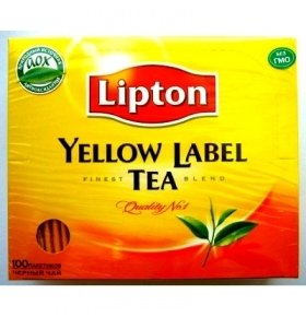 Чай Lipton Yellow Label конверт 100*2г