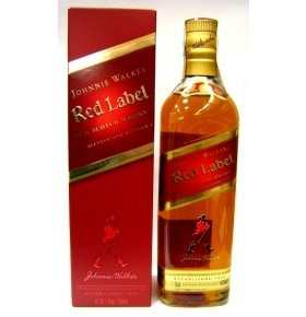 Виски Johnnie Walker Red Label п/у 0.7л
