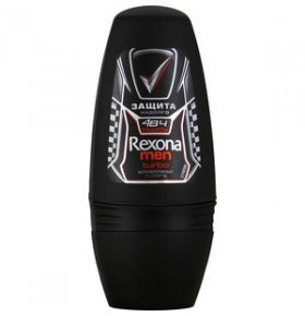 Дезодорант шариковый Rexona Men Turbo 50мл