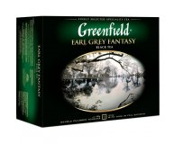 Чай черный Earl Grey Fantasy Greenfield 50х2 гр