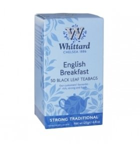 ЧайWhittard of Chelsea English Breakfast Черный 50*2.5г