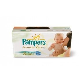 Подгузники Pampers Premium Midi VP 60шт/уп