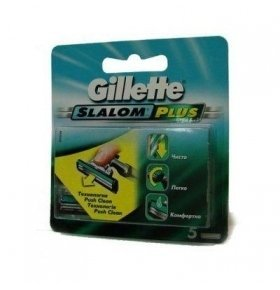 Картридж Gillette Slalom Plus 5шт/уп