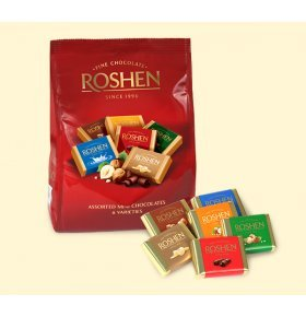 Набор шоколада Roshen Mini chocolates 500г