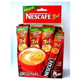 Кофе Nescafe Original 3в1 17г