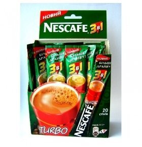 Кофе Nescafe Turbo 3в1 17г