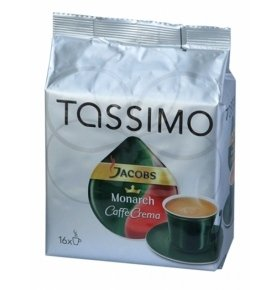 Кофе Jacobs Tassimo Monarch Каффе крема 112г