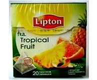 Чай Lipton Tropikal Fruit Tea 20п.пирамидок 20*1.8г