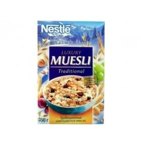 Nestle Finess Luxury Muesli, 350г