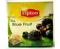 Чай Lipton Blue Fruit Tea 20п.пирамидок 20*1.8г