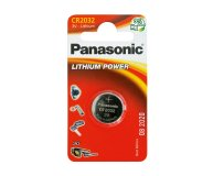 Батарейки Panasonic LithPower дисковая CR2032 1шт