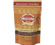 Кофе растворимый Moccona Continental Gold пачка 75г