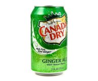 Напиток Ginger Ale Canada Dry 0,33 л